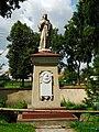 Podlaskie - Knyszyn - Knyszyn - kosciol pw. sw Jana Apostola i Ewangelisty - statua.JPG