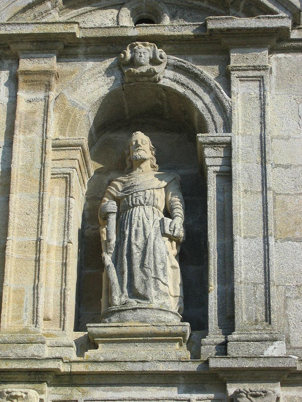 Poio Mosteiro 01-05, Santo André