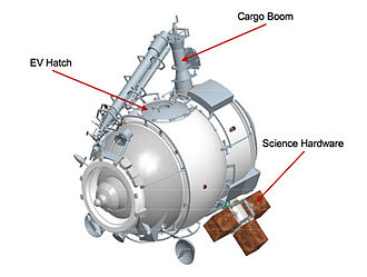 Poisk (ISS module) - Diagram of the Poisk (MRM-2) ISS module