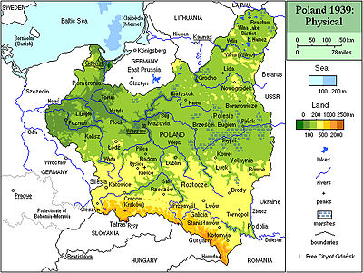 Map Of Poland Before 1939 History of Poland (1918–1939)   Wikipedia