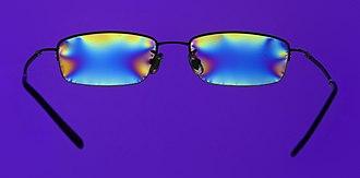 Polarization (waves) - Stress in plastic glasses