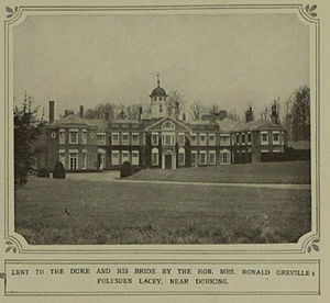 Polesden Lacey - Image: Polesden Lacey 1923
