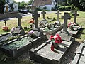 Polish Graves at All Saints Church, Marsworth - geograph.org.uk - 1529405.jpg