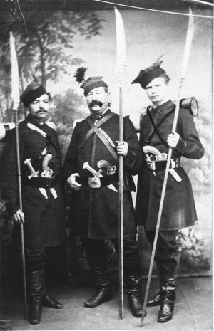 Kosynierzy - Scythe-wielding Polish soldiers of the January Uprising in 1863–1864
