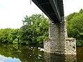 Pont Rheilffordd yn croesi'r Afon Gwy - Railway Bridge crossing the River Wye. - geograph.org.uk - 1376032.jpg
