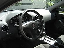 Pontiac G6 Coupe Interior
