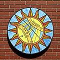 Porcelain Wall Sundial Sconse by Carmichael.jpg