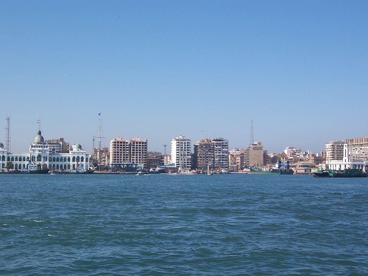 картинка фотография курорта Порт-Саид в Египте