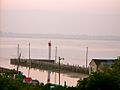 Port Rowan's pier at sunset in 2008.jpg