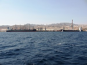 Port of Eilat - Port of Eilat seen from the sea