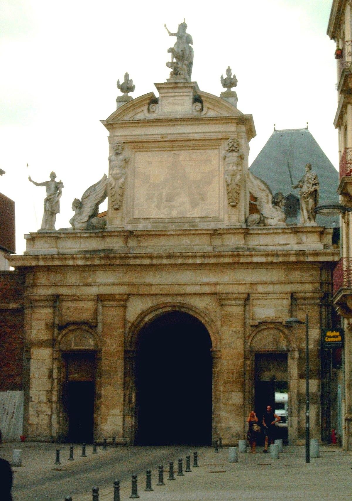 Porte saint georges nancy wikip dia for Porte garage nancy