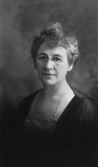 Hazel Wood Waterman - Portrait of Hazel Wood Waterman in 1921.