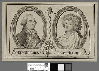 Sr. Edwd. Hughes K.B. Lady Hughes