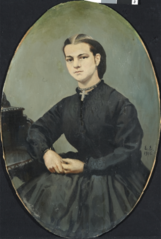 Portrait of Anna Henriette Paus, b. Wegner