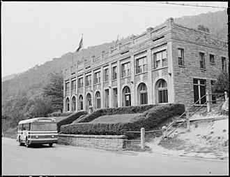 Lynch, Kentucky - Lynch Post Office in 1946