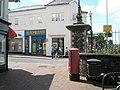 Postbox opposite Blockbusters in Mermaid Walk - geograph.org.uk - 942793.jpg
