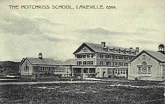 Hotchkiss School - Postcard circa 1905