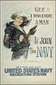 Poster, Gee I wish I were a Man, I'd Join the Navy, after 1917 (CH 18505041).jpg