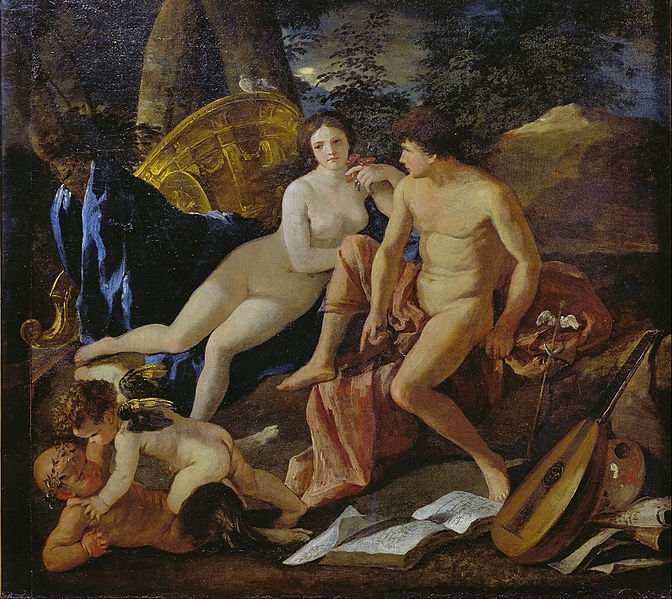 File:Poussin, Nicolas - Venus and Mercury - Google Art Project.jpg