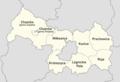 Powiat legnicki - mapa z nazwami gmin.png