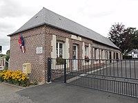 Prétot-Vicquemare (Seine-Mar.) mairie.jpg