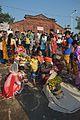 Prasad Packing - Chhath Puja Ceremony - Ramkrishnapur Ghat - Howrah 2013-11-09 4099.JPG