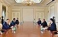 President Ilham Aliyev received mayor of Tbilisi, July 2021 01.jpg