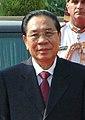President of Lao People's Democratic Republic, Mr. Choummaly Sayasone at Rashtrapati Bhavan, in New Delhi.jpg