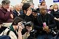 Press photographers record Obama (466632815).jpg