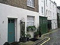 Pretty cottages on the northern side of Brunswick Mews - geograph.org.uk - 1039110.jpg