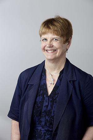 Dorothy V. M. Bishop - Dorothy Bishop at the Royal Society admissions day in London, July 2014