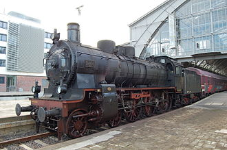 Prussian P 8 - P 8 2455 Posen in Leipzig