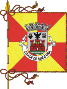 Coat of arms and flags of Albufeira / Brasões e bandeiras de Albufeira