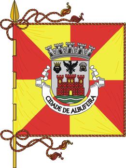 Flag of Albufeira, Portugal