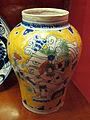 Puebla de los angeles (messico), bottega di ysauro uriarte, vaso, 1920-22 ca..JPG