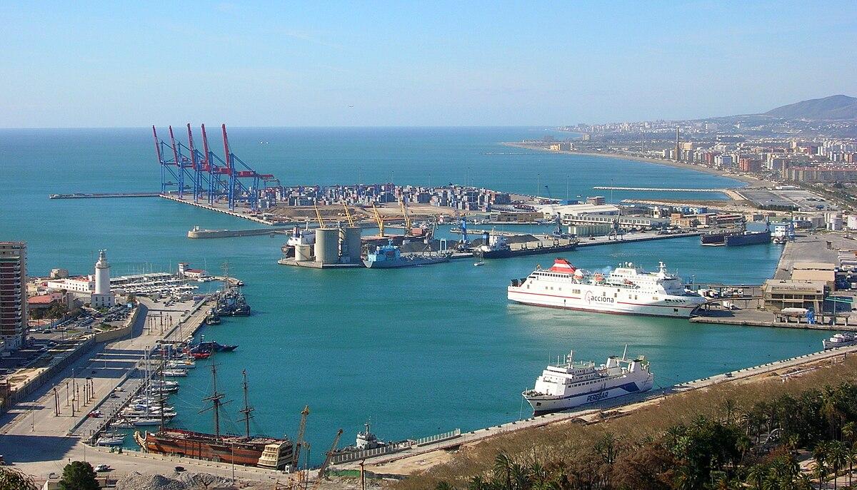 Port De Malaga Wikip 233 Dia