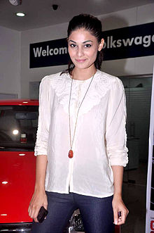 Puja Gupta Promotions of 'Go Goa Gone' in association with Volkswagen 08.jpg