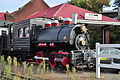 Pullman, WA - Pufferbelly Depot - Davenport locomotive 01.jpg