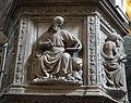 Pulpito del duomo di pietrasanta, evangelisti di bertoccio e filippo casoni (1504-08), marco.JPG