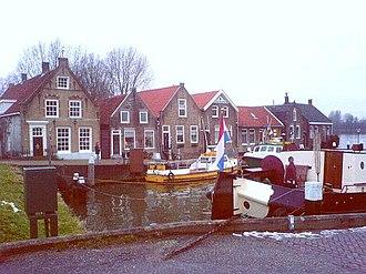 Puttershoek - The 16th-century harbour of Puttershoek