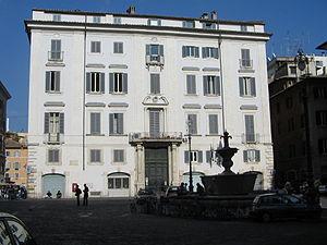 Alessandro Specchi - The Palazzo Pichini-Gallo, Rome built by Alessandro Specchi