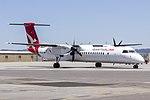 QantasLink (VH-QOA) Bombardier DHC-8-402Q taxiing at Wagga Wagga Airport (6).jpg