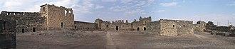 Qasr Azraq - Inside the ruins of Qasr Azraq
