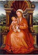 Quentin Matsys - Virgin and Child Enthroned.jpg