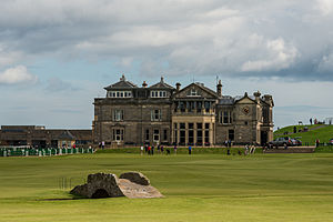 R&A Clubhouse, Old Course, Swilcan Burn bridge