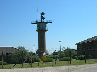 Quick Reaction Alert - RRH Staxton Wold in May 2009; Staxton Wold is possibly the oldest operational radar station in the world