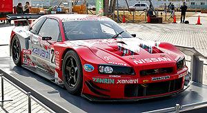 Nismo - A 2003 Xanavi NISMO Skyline GT-R GT500 race car