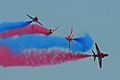 RAF Red Arrows - Waddington 2013 (9272409289).jpg