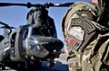 RAF Regiment Gunner with MERT Chinook in Afghanistan MOD 45158473.jpg
