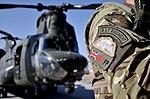 RAF Regiment Gunner with MERT Chinook in Afghanistan MOD 45158473.jpg